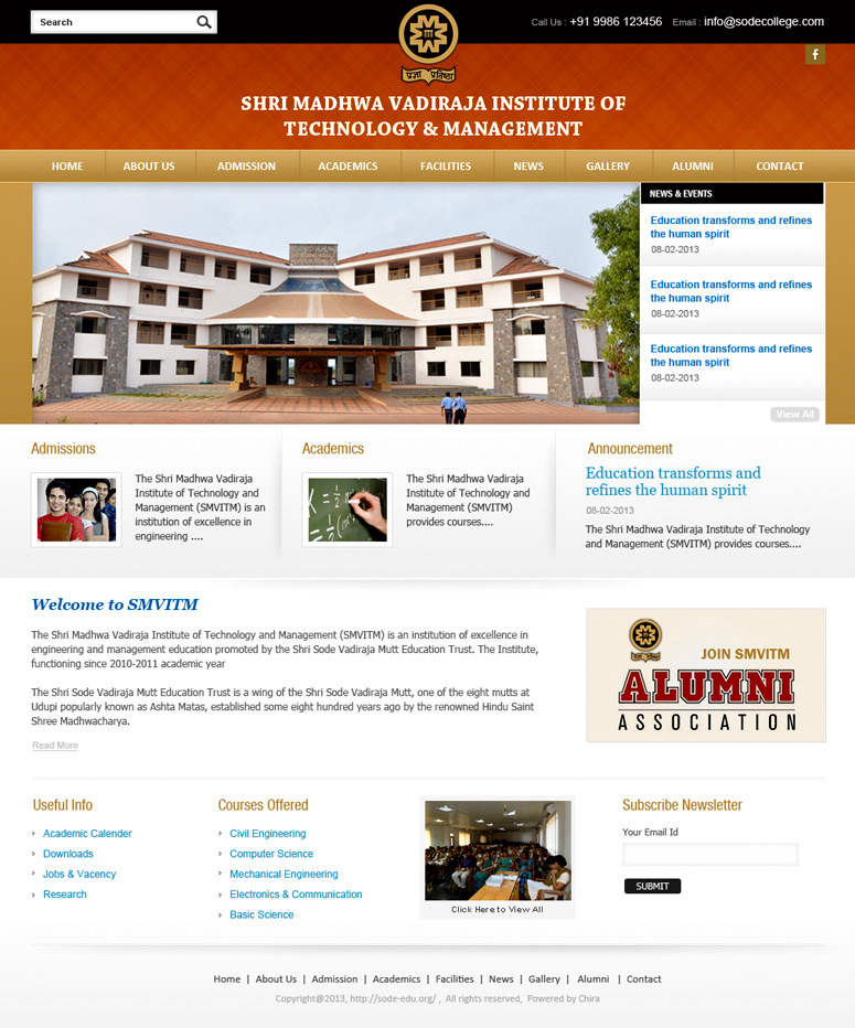Shri Madhwa Vadiraja Institute of Technology & Management